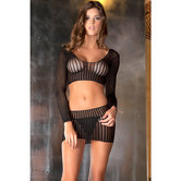 Crochet-net-top-en-rok-set