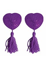 Nipple-Tassels-Heart-Purple