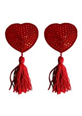 Nipple-Tassels-Heart-Red