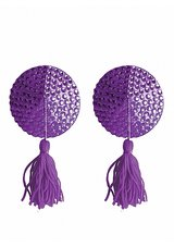 Nipple-Tassels-Round-Purple