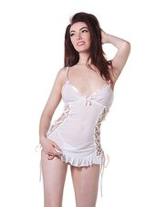 White-Babydoll-with-Braided-Ribbon-&-String
