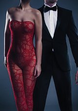 Alina-Bodystocking-Red-One-Size