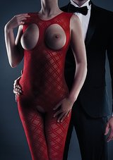 Maisie-Bodystocking-Red-One-Size