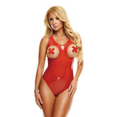 Latex-Body-Met-Open-Cups-Rood