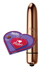 Rocks-Off-Mini-Vibrator-RO-90mm-Gold-met-I-love-Milka!-Giftset