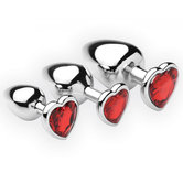 Chrome-Hearts-3-Delige-Buttplug-Set
